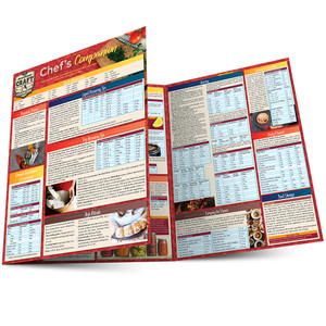 Quick Study QuickStudy Chef's Companion Laminated Reference Guide BarCharts Publishing Culinary Lifestyle Guide Main Image