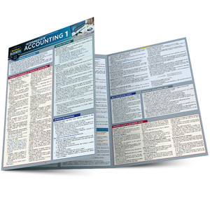 QuickStudy | Intermediate Accounting 1 Laminated Study Guide