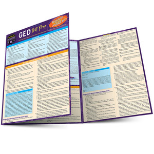 QuickStudy | GED Test Prep: Reasoning Through Language Arts Laminated Study Guide