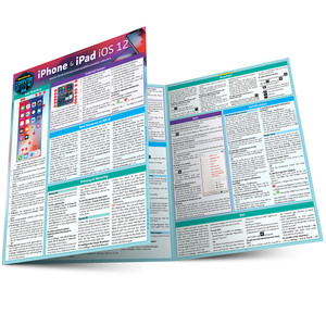 QuickStudy | iPhone & iPad iOS 12 Laminated Reference Guide