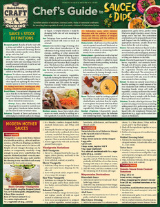 QuickStudy | Chef's Guide to Sauces & Dips Laminated Reference Guide