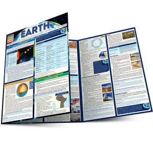Quick Study QuickStudy Earth Laminated Study Guide BarCharts Publishing Physical Science Reference Main Image