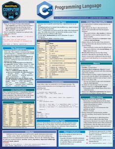 QuickStudy   C++ Programming Language Laminated Study Guide