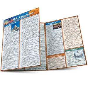 Quick Study QuickStudy U.S. Congress Laminated Study Guide BarCharts Publishing Social Science Guide Main Image