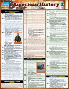 QuickStudy | American History 2 Laminated Study Guide