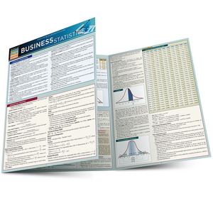 Quick Study QuickStudy Business Statistics Laminated Study Guide BarCharts Publishing Business Guide Main Image