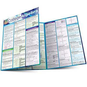 QuickStudy | College Algebra Laminated Study Guide