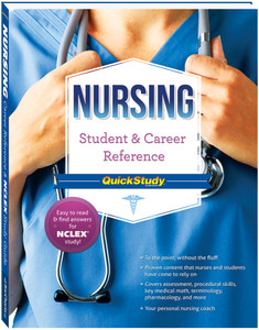 QuickStudy Nursing Student & Career Reference Book