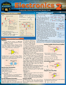 QuickStudy | Electronics 2 Laminated Reference Guide