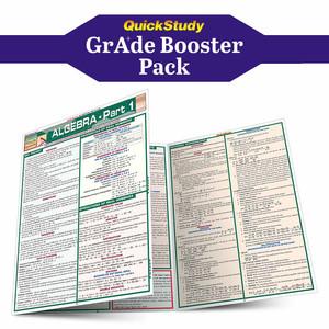 QuickStudy | Algebra Grade Booster Pack