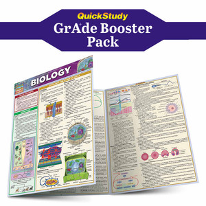 QuickStudy | Biology Grade Booster Pack