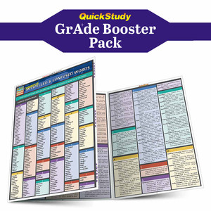 QuickStudy | English Grade Booster Pack