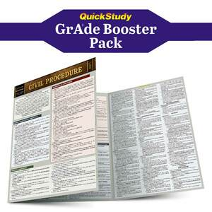 QuickStudy | Law Grade Booster Pack