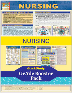 QuickStudy | Nursing Grade Booster Pack