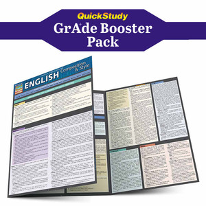 QuickStudy | Writing Essentials Grade Booster Pack