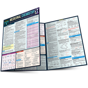 QuickStudy | Medicinal Chemistry Laminated Study Guide
