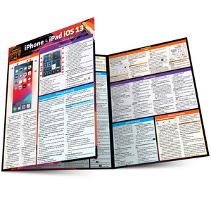 QuickStudy | iPhone & iPad iOS 13 Laminated Reference Guide