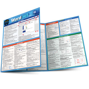 QuickStudy | Microsoft Word 365: 2019 Laminated Reference Guide