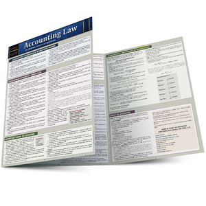 QuickStudy | Accounting Law Laminated Reference Guide