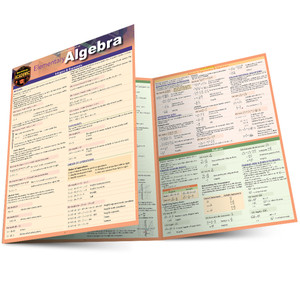 QuickStudy | Elementary Algebra Laminated Study Guide