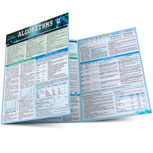 Quick Study QuickStudy Algorithms 2 Laminated Study Guide BarCharts Publishing Computer Digital Content Reference Main Image