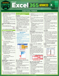 QuickStudy | Microsoft Excel 365: Advanced Laminated Study Guide