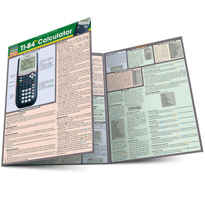 QuickStudy | TI-84 Plus Calculator Laminated Reference Guide