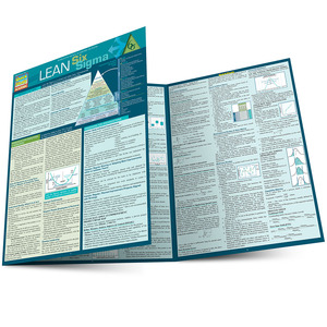 Quick Study QuickStudy Lean Six Sigma Laminated Reference Guide BarCharts Publishing Career Outline Main Image