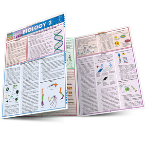 QuickStudy Quick Study Biology 2 Laminated Study Guide BarCharts Publishing Science Education Guide Main Image
