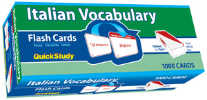 QuickStudy | Italian Vocabulary Flash Cards