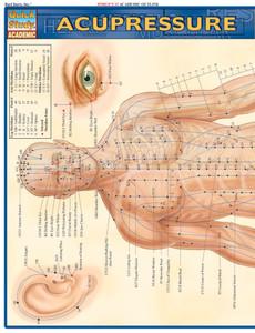 QuickStudy | Acupressure Laminated Study Guide