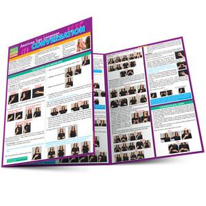 QuickStudy | American Sign Language: Conversation Laminated Study Guide