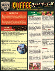 QuickStudy | Coffee: Craft & Culture Laminated Reference Guide