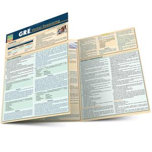 Quick Study QuickStudy GRE: Verbal Reasoning Laminated Study Guide BarCharts Publishing Inc Guide Main Image