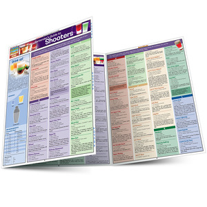 QuickStudy Quick Study Bartenders Guide To Shooters Laminated Study Guide BarCharts Publishing Guide Main Image