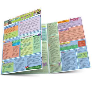 Quick Study QuickStudy SAT Tips: Math Laminated Study Guide BarCharts Publishing Mathematic Reference Main Image