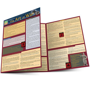 QuickStudy | Business 101: The Art Of War Laminated Reference Guide