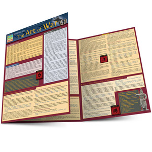 Quick Study QuickStudy Business 101: The Art Of War Laminated Study Guide BarCharts Publishing Business Reference Main Image