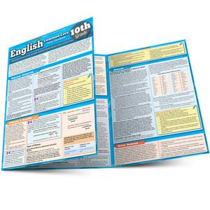QuickStudy | English: Common Core - 10th Grade Laminated Study Guide