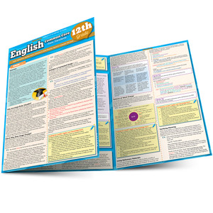 QuickStudy | English: Common Core - 12th Grade Laminated Study Guide