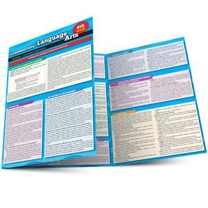 QuickStudy Common Core: Language Arts 6Th Grade Laminated Study Guide