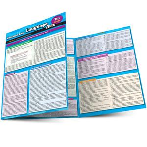 QuickStudy Common Core: Language Arts 7th Grade Laminated Study Guide