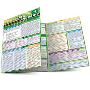 QuickStudy | Common Core: Math & Language Arts - 4th Grade Laminated Study Guide