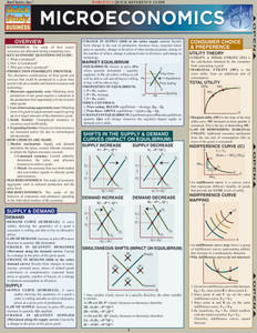 QuickStudy   Microeconomics Laminated Study Guide