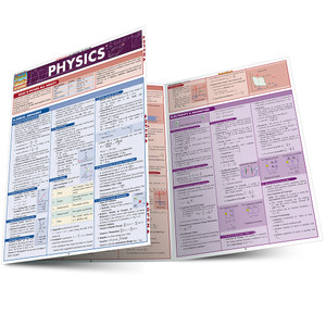 QuickStudy | Physics Laminated Study Guide