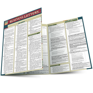 QuickStudy | Business Letters Laminated Reference Guide