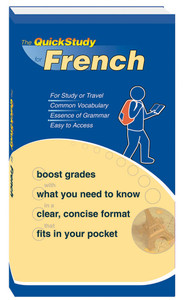QuickStudy for French Study Book