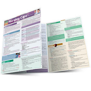 QuickStudy | Nursing Care Procedures Laminated Study Guide