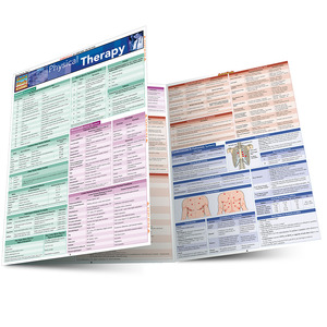 Quick Study QuickStudy Physical Therapy Laminated Study Guide BarCharts Publishing Physical Therapy Main Image