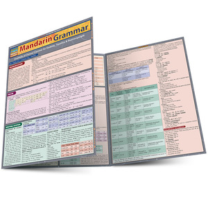 Quick Study QuickStudy Mandarin Grammar Laminated Study Guide BarCharts Publishing Mandarin Grammar Main Image